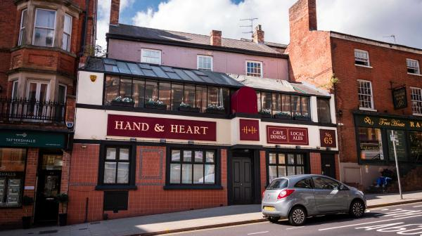 Hand and Heart, Derby Road